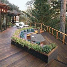 Hickory, Dickory, Deck… Ideas for your deck
