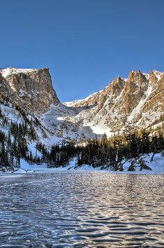 Dream Lake, Rocky Mountain National Park, Colorado; photo by Wayne Boland