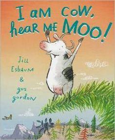 Picture Books: I am Cow, Hear Me Moo! pictur book, picture books, zoo book, children book