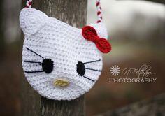 Hello Kitty Crochet Bag