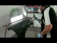How To Prep and Spray Matte Black Paint