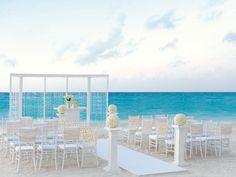 Stunning Elegant Ivory Wedding Collection by Hard Rock - Love! #beachweddings
