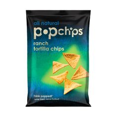 popchips tortilla chips, $20.50 #birchbox