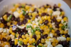 Food Love: Black Bean, Corn & Feta Salsa