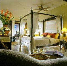 tropical bedroom Floral Suite Bedroom
