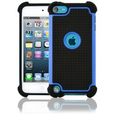 CellJoy Triple Defender Layer Impact Hard Case for Apple iPod Touch iTouch 5G 5th Generation ($10.99) Unique, revolutionary design with style and the utmost protection 3 layers of protection, silicone inside, dual fusion hard case with shield plate outside