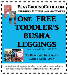 check out www.playgroundcutie.com for this amazing offer!
