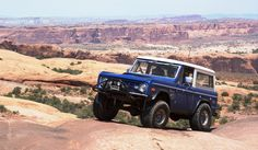Love white tops on blue broncos....this is a nice example in the desert!