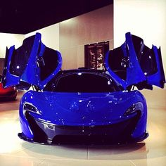 Deep Blue McLaren P1