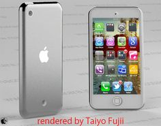 New iPod Touch to have bigger screen? (concept by Taiyo Fujii)