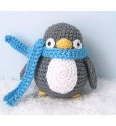 Amigurumi Crochet Penguin Pattern Digital Download