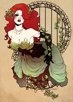 Fancy Poison Ivy