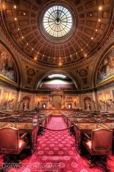 Senate Chamber, Minnesota State Capitol, St Paul, Minnesota