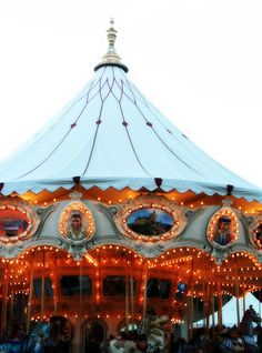 You cannot help but smile when a Merry Go Round is around!