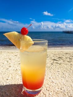 It's noon somewhere!  Tropical cocktails in paradise, the #RivieraMaya