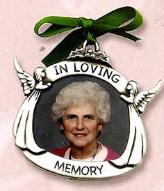 In Loving Memory Pewter Ornament