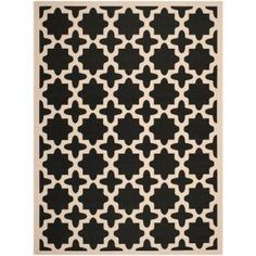 Safavieh Courtyard Black/Beige 9 ft. x 12 ft. Area Rug-CY6913-266-9 at The Home Depot