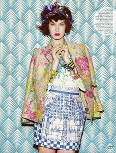 Jamie Nelson Fashion Magazine Canada March2013