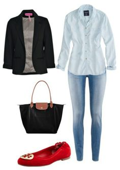 How to wear: Chambray Shirts http://berrytrendy.com/2014/02/15/how-to-wear-chambray-shirts/