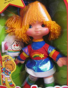 Rainbow Brite Doll & Twink Sprite, 1983