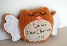 Baby's First Christmas Ornament Personalized for by TheNestingSpot