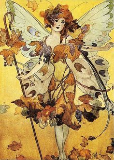 AUTUMN FAIRY by M.T. ROSS by sofi01, via Flickr