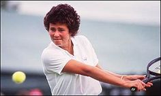 Pam Shriver, winner of the Wimbledon women's doubles match (with Martina Navratilova) in 1981, 1982, 1983, 1984 and 1986: born and resides in Baltimore
