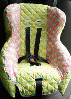 DIY Tutorial: Baby/child car seat cover.