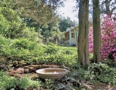 This garden is so peaceful that you would never guess it's located in the greater Boston area.  --The Yankee Moseyer