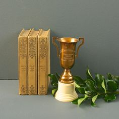 Award a vintage trophy to a first-prize pal. #etsygifts