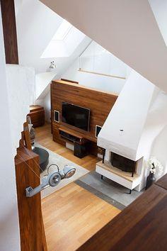 Jurnal de design interior - Amenajări interioare : Penthouse impresionant în Suedia
