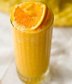 Orange juice frosty