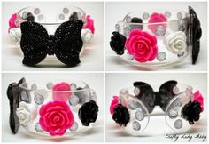 JEWELRY DIY: Girly Cuff and Earrings with Jewel Pop Shop |Crafty Lady Abby #thursDIY