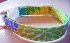 Spring Fling Collar  Made to Order  Your Choice by katiesk9kollars, $15.00