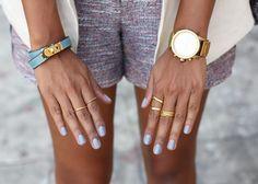 little gold rings