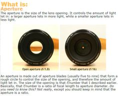 aperture and shutter speed go hand in hand :) | phot