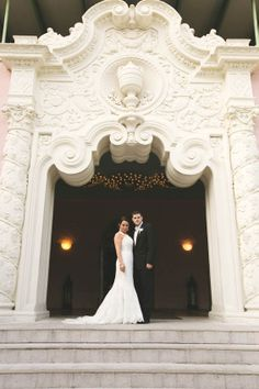 Romantic Destination Wedding in Florida at The Vinoy Renaissance