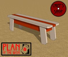 Plan of the Week: Utility Bench