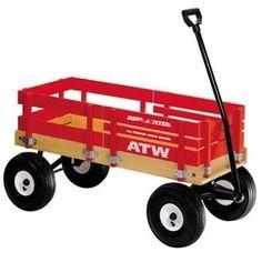 flyer allterrain, cargo wagon, little red, retro toys, red wagon, game, vintage toys, radio flyer, kids toys