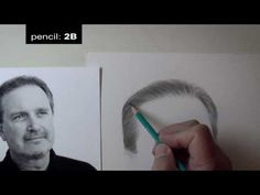 Critique No. 1 - Tips on Drawing Hair, part 2 ... Darrel Tank