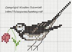Bird     punto de cruz