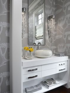 Powder Room Design, Pictures, Remodel, Decor and Ideas