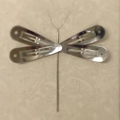 Found in desk drawer and made into a dragonfly #quilt binding clips & snag repair tool. #notionsrock - @dritz_sewing- #webstagram