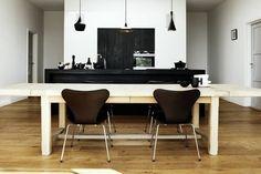 ::INTERIORS:: interior design, dining rooms, design homes, dine room, white rooms, design tips, kitchen, dining room design, black