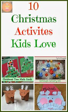 10+  Christmas Activities Kids Love by FSPDT