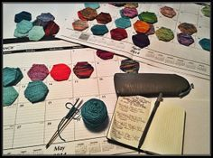 #5KCBWDAY3 | Thousands of Stitches #knit hexagons