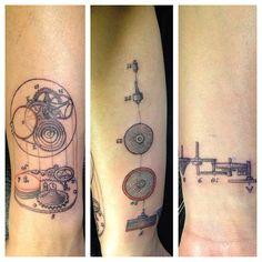 Brucius Tattoo. Idea. (mechanical parts)
