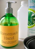 Make Your Own Healthy Hand Sanitizer!