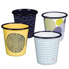 Folklore Set of Four Tumblers | Wild and Wolf from Bloomsbury Store