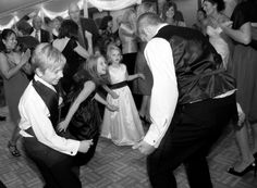 Tearing it up on the dance floor!